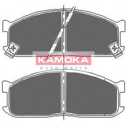 Колодки тормозные дисковые KAMOKA JQ1011514