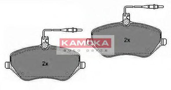 Колодки тормозные дисковые KAMOKA JQ1013452
