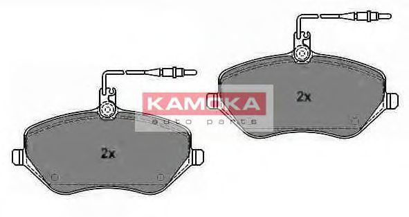 Колодки тормозные KAMOKA JQ1013452