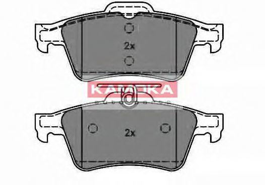 Колодки тормозные KAMOKA JQ1013532