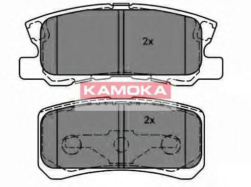 Колодки тормозные KAMOKA JQ1013678