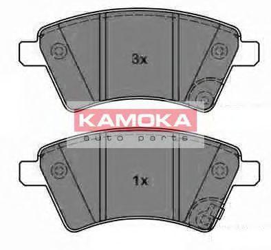 Колодки тормозные KAMOKA JQ1013750
