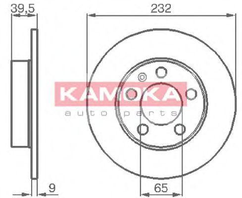 Диск тормозной KAMOKA 1036068
