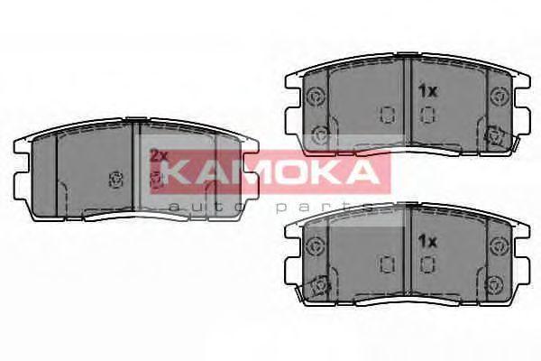 Колодки тормозные KAMOKA JQ1018370