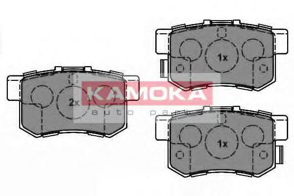 Колодки тормозные KAMOKA JQ1018538