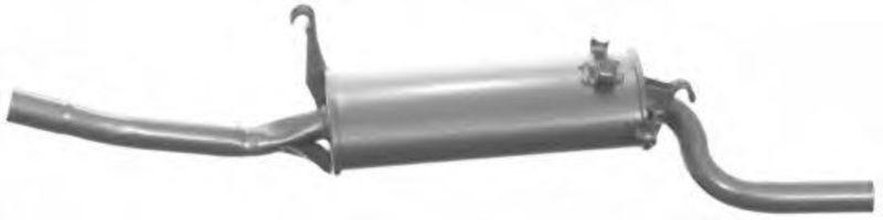 Глушитель выхлопных газов конечный IMASAF 131007