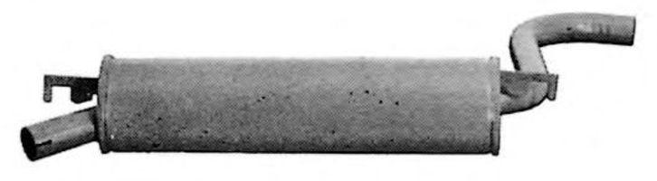 Глушитель выхлопных газов конечный IMASAF 191007