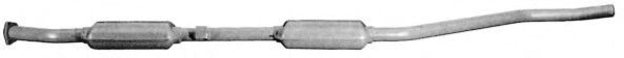 Средний глушитель выхлопных газов IMASAF 191106