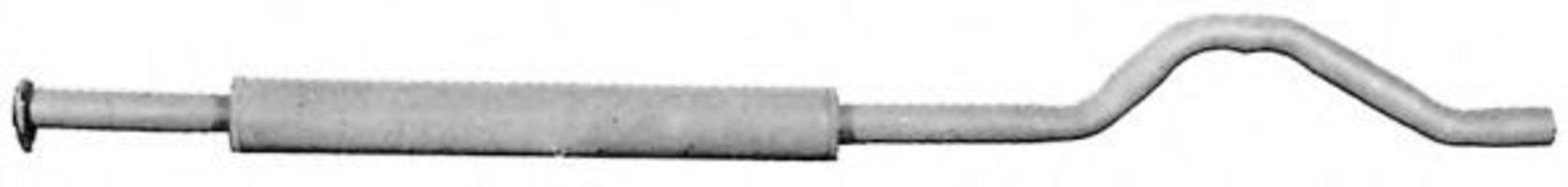Средний глушитель выхлопных газов IMASAF 191306