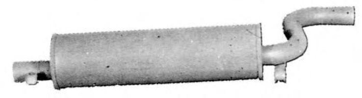 Глушитель выхлопных газов конечный IMASAF 194007
