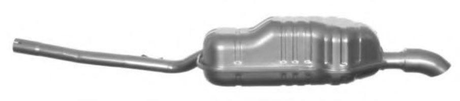 Глушитель выхлопных газов конечный IMASAF 138317