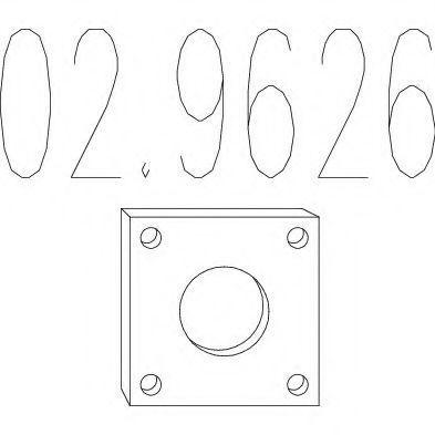 Купить Монтажный элемент выхлопной системы MTS 029626