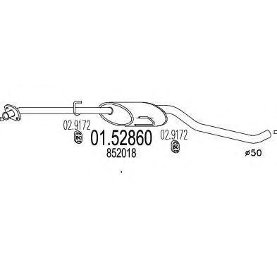Купить Резонатор MTS 0152860
