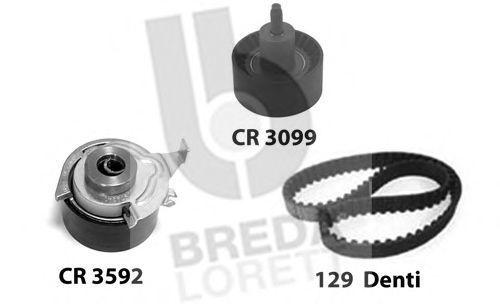Комплект ремня ГРМ BREDA LORETT KCD0279