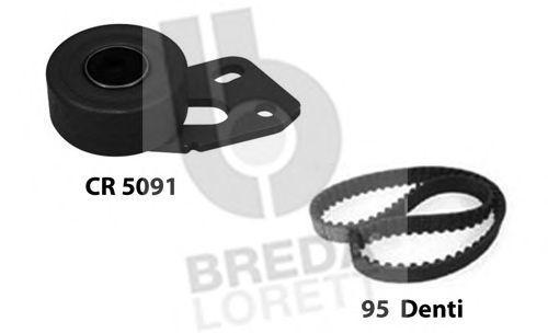 Комплект ремня ГРМ BREDA LORETT KCD0282