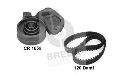 Комплект ремня ГРМ BREDA LORETT KCD0295