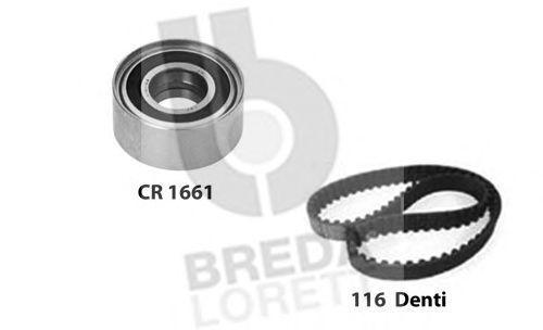 Комплект ремня ГРМ BREDA LORETT KCD0321