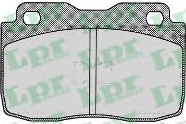 Колодки тормозные LPR 05P010