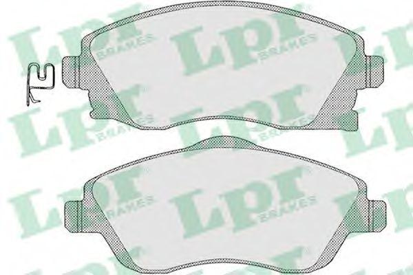 Колодки тормозные LPR 05P1004