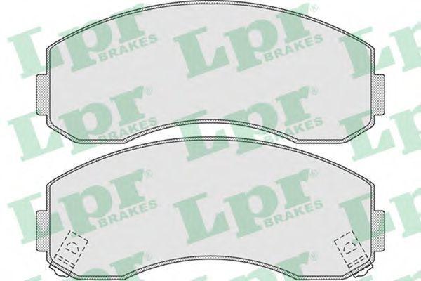 Колодки тормозные LPR 05P1007