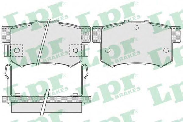 Колодки тормозные LPR 05P1014