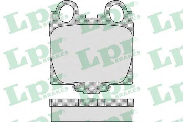 Колодки тормозные LPR 05P1051