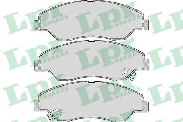 Колодки тормозные LPR 05P1053