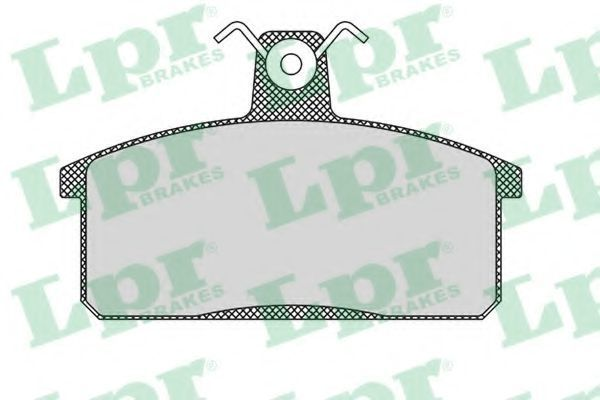 Колодки тормозные LPR 05P107
