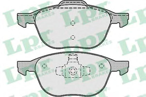 Колодки тормозные LPR 05P1190