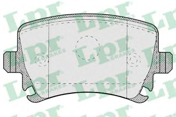 Колодки тормозные LPR 05P1219