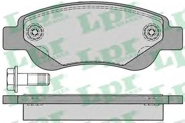 Колодки тормозные LPR 05P1235