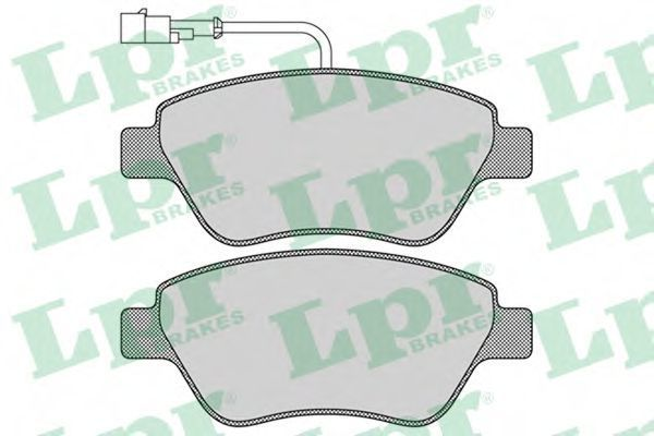 Колодки тормозные LPR 05P1266