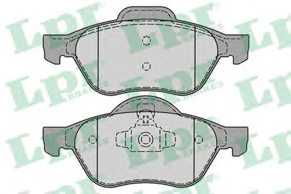 Купить Колодки тормозные LPR 05P1279