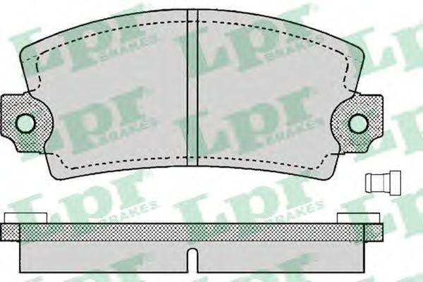 Колодки тормозные LPR 05P129