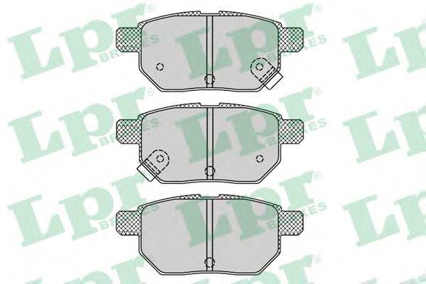 Колодки тормозные LPR 05P1312