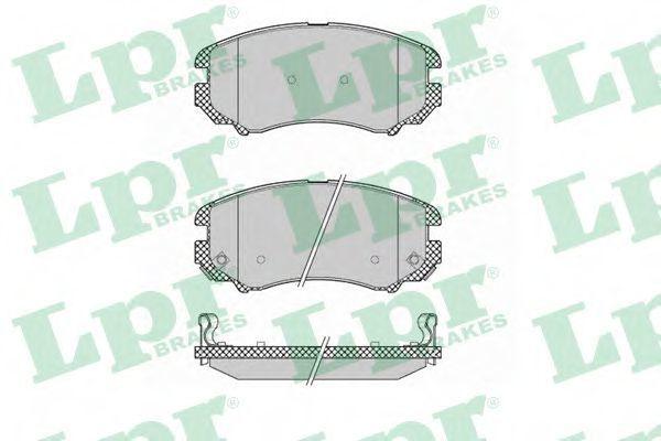 Купить Колодки тормозные LPR 05P1369