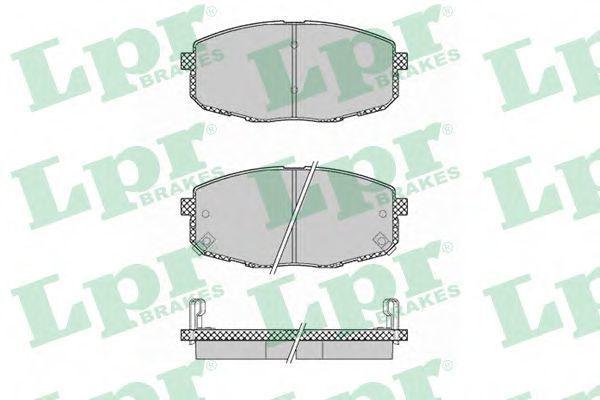 Колодки тормозные LPR 05P1375  - купить со скидкой