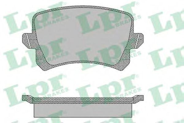 Колодки тормозные LPR 05P1390