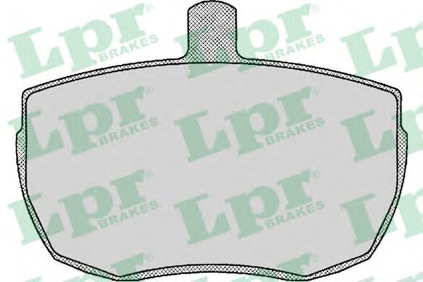 Колодки тормозные дисковые LPR 05P140
