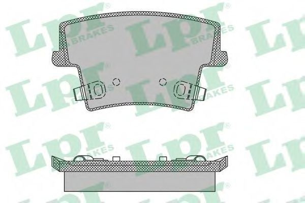 Купить Колодки тормозные LPR 05P1400