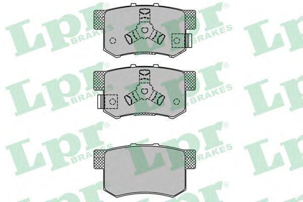 Купить Колодки тормозные LPR 05P1404
