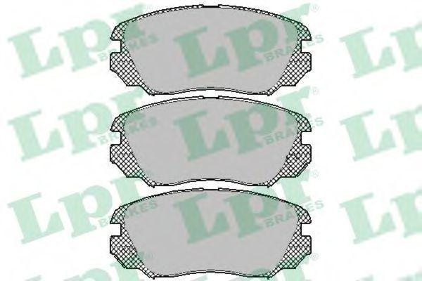 Колодки тормозные LPR 05P1409