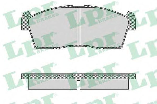 Колодки тормозные LPR 05P1442