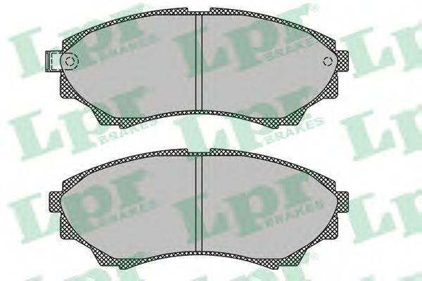 Колодки тормозные LPR 05P1499