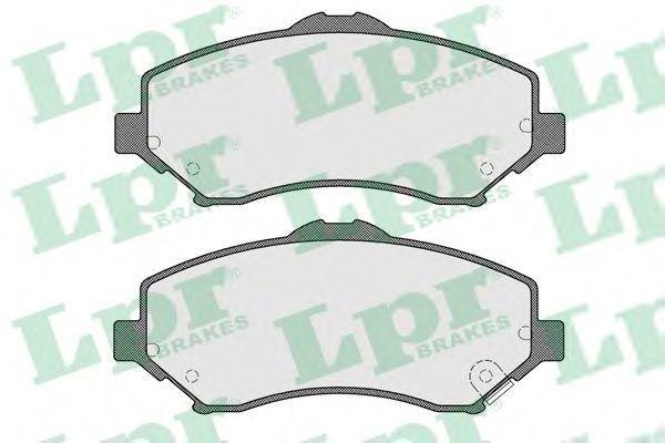 Колодки тормозные LPR 05P1549
