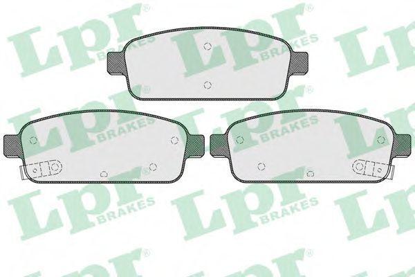 Колодки тормозные LPR 05P1575