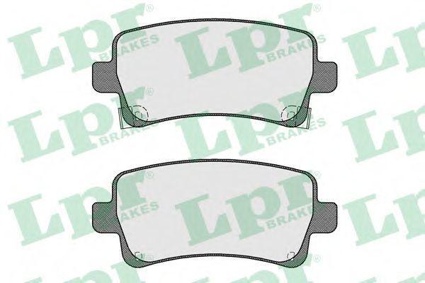 Колодки тормозные LPR 05P1584