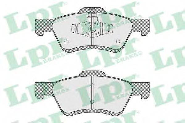 Колодки тормозные LPR 05P1622