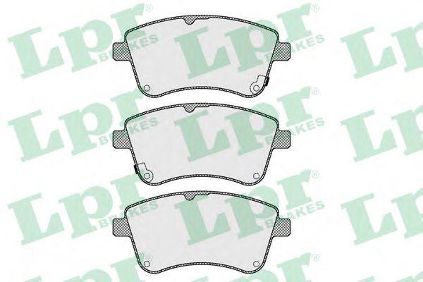 Купить Колодки тормозные LPR 05P1623