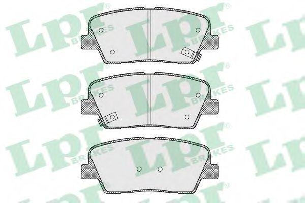 Колодки тормозные LPR 05P1625